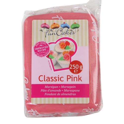 MHD 28/7/21 FunCakes feines Marzipan Classic Pink 250 g