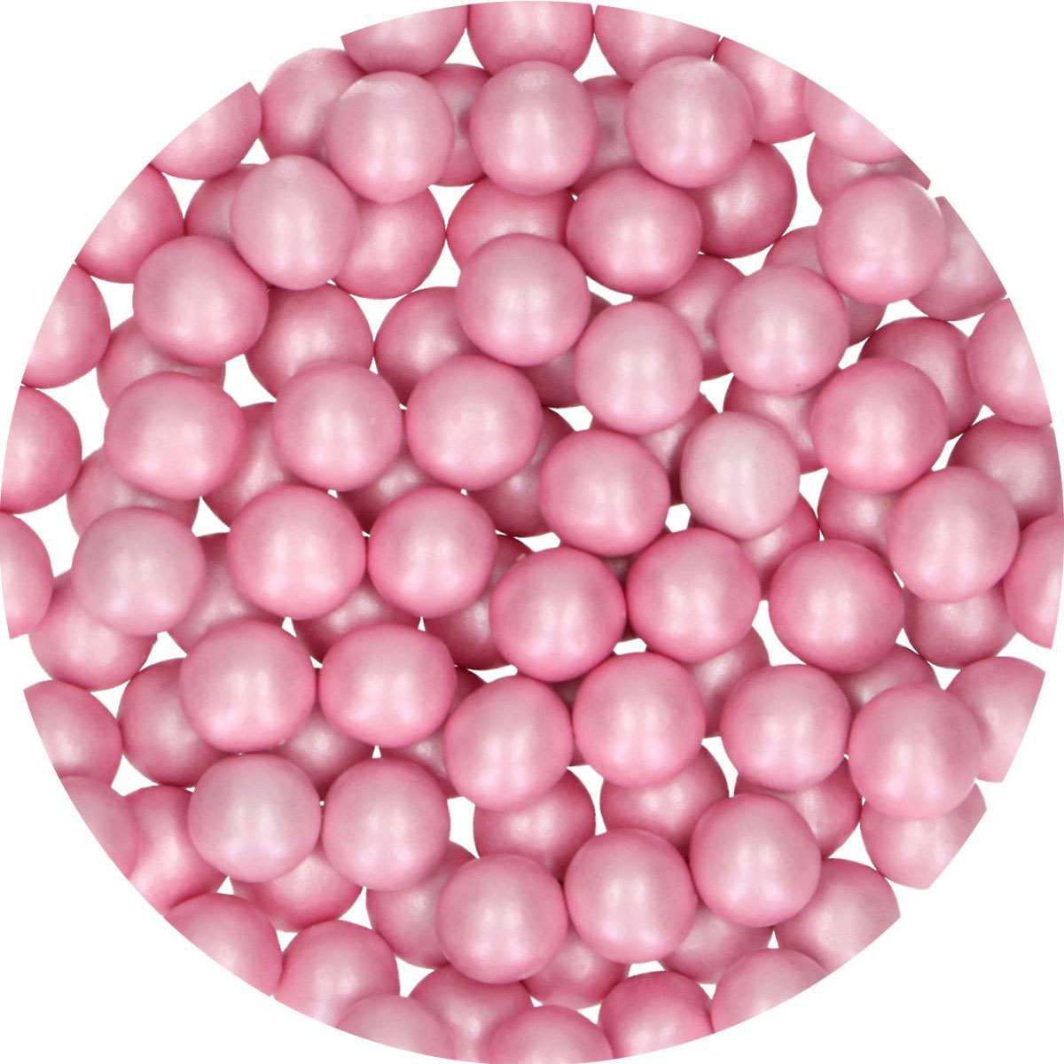 FunCakes Candy Choco Pearls Large Pink 70g