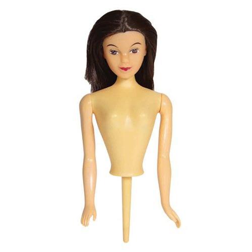 PME Doll Pick - Einsteckpuppe Brunette