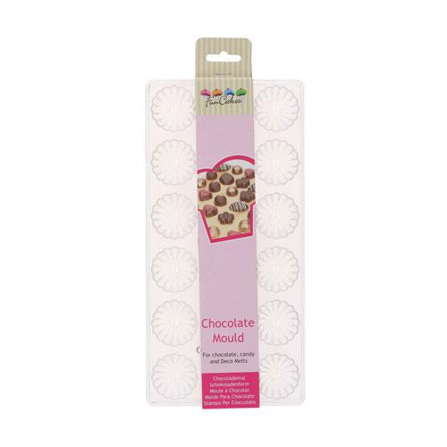 Funcakes Schokoladenform Praline - Swirl