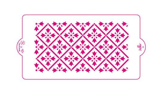 Decora Schablone Griechisches Muster 15 x 30cm
