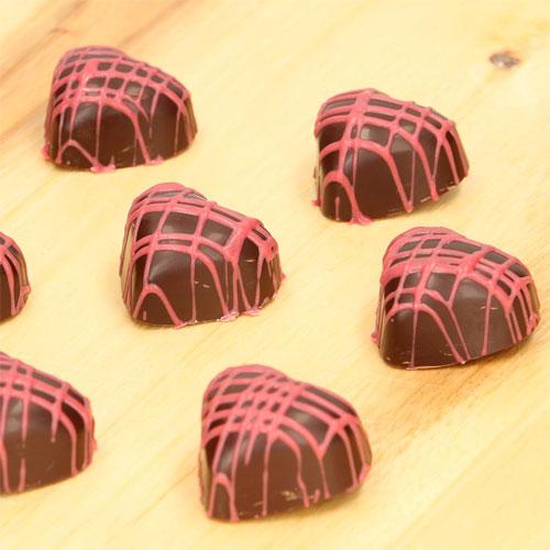 Funcakes Schokoladenform Praline - Herz