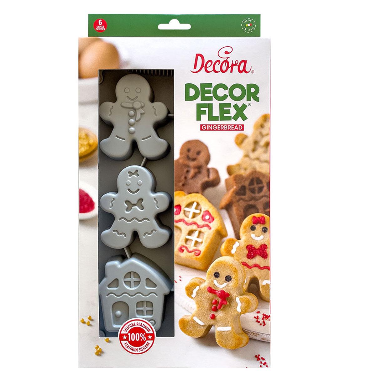 Decora Decorflex - Silikonbackform Gingerbread