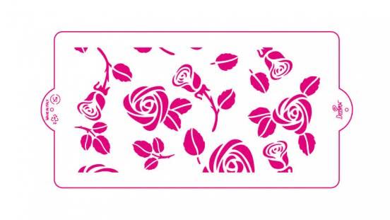 Decora Schablone Rose 15 x 30cm