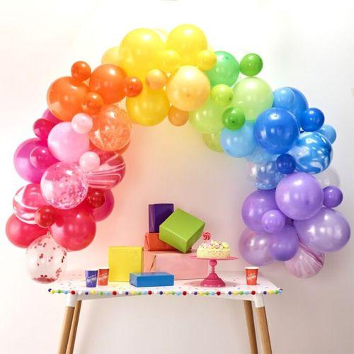 Ginger Ray Ballonbogen / Ballongirlande Set Regenbogen