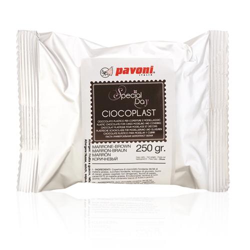 Modellierschokolade 250g braun
