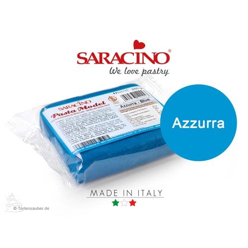 Saracino Modellierpaste - Dunkelblau 250g