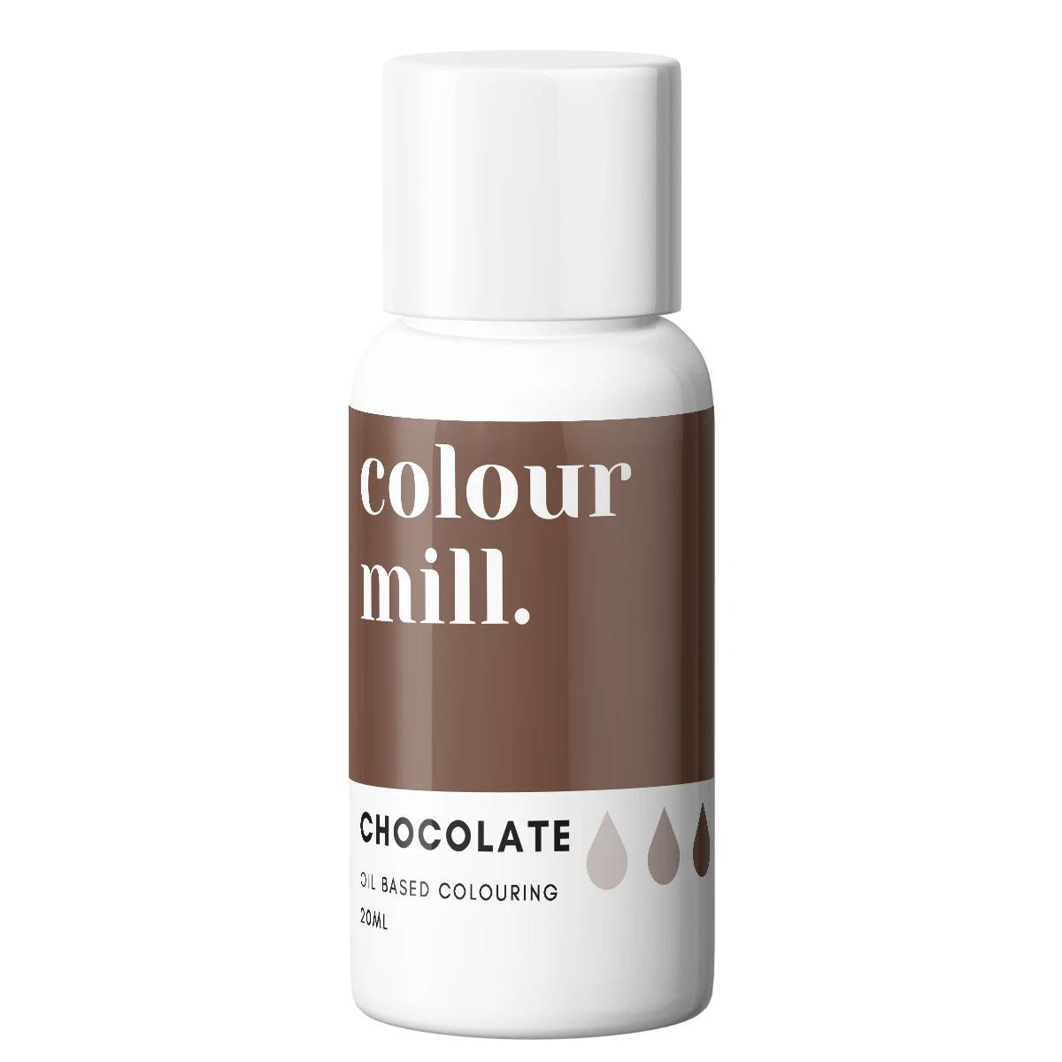 Colour Mill fettlösliche Lebensmittelfarbe - Chocolate 20ml