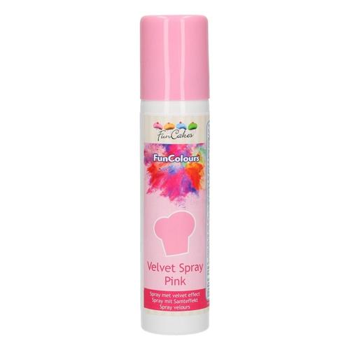 Funcakes Velvet Spray - Samtspray - Pink 100ml
