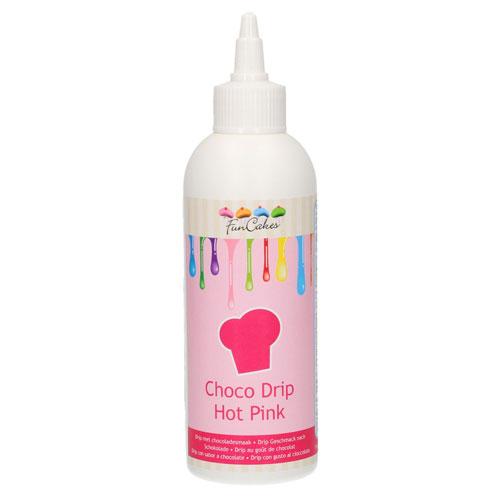 Funcakes Choco Drip - Hot Pink 180g