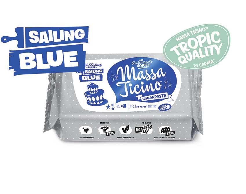 Massa Ticino Tropic – Rollfondant Sailing Blue 250g