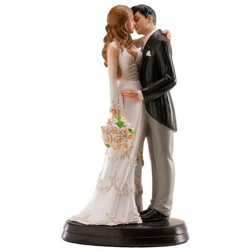 Dekorative Tortenfigur Hochzeitspaar - Maria & Juan 18cm