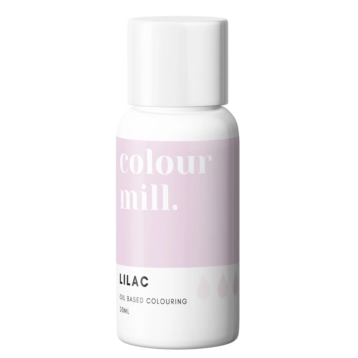 Colour Mill fettlösliche Lebensmittelfarbe - Lilac 20ml