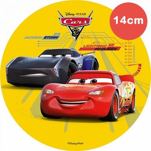 Mini Tortenaufleger Esspapier  - Cars -  Jackson Storm - 14cm
