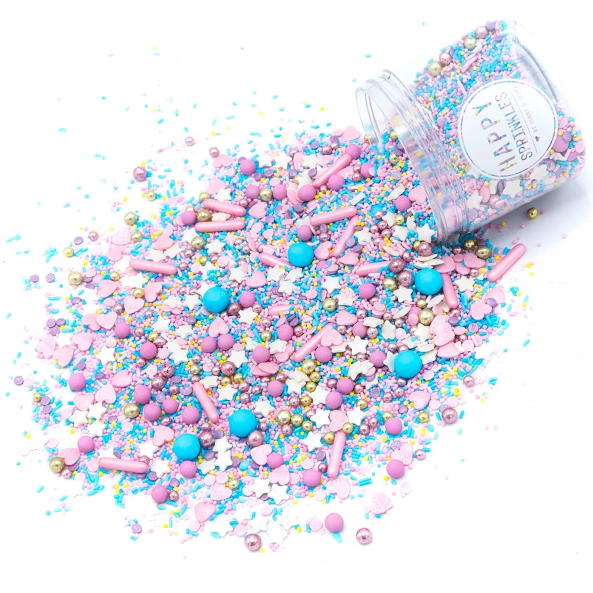 Happy Sprinkles Streuselmix - Cotton Candy 90g