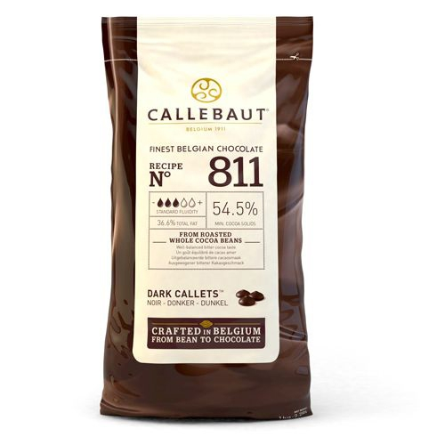 Callebaut Chocolate Callets - Dark - 1 kg