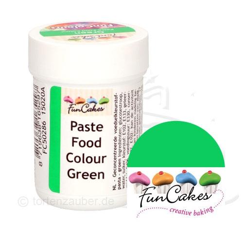 Funcakes Funcolours Pastenfarbe - Green 30g