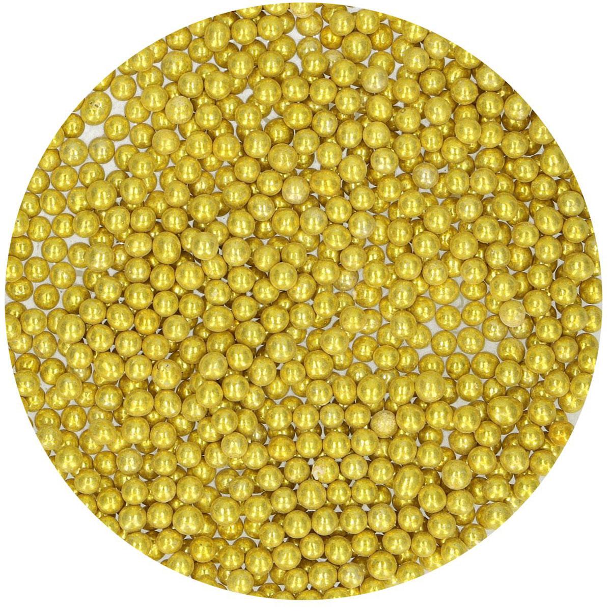FunCakes Zuckerperlen Metallic Gold