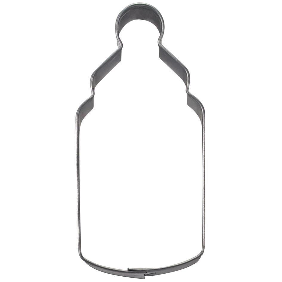 Städter Babyflasche 6,5 cm Weißblech