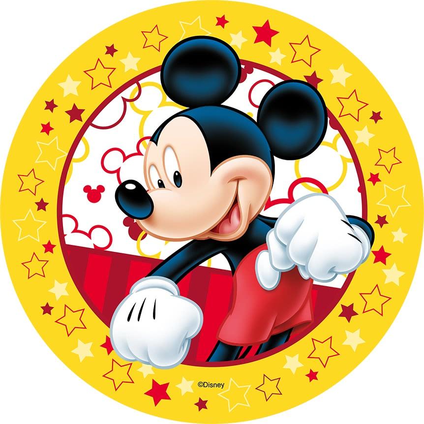 Tortenaufleger Esspapier  - Micky Maus Motiv 1