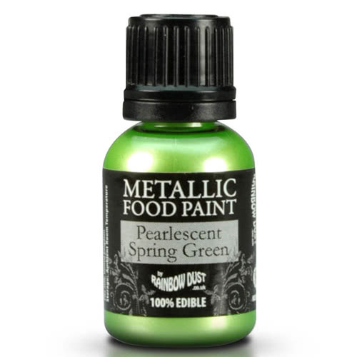 RD Edible Food Paints – Spring Green