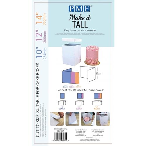 PME Cake Box Extender - Make it Tall - Erweiterung