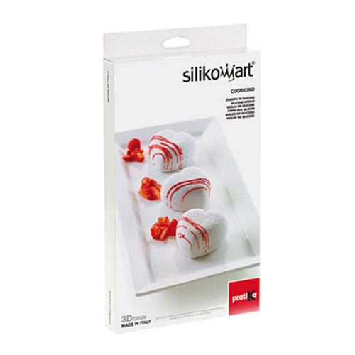 Silikomart Silikon- Backform 3D - Cuoricino