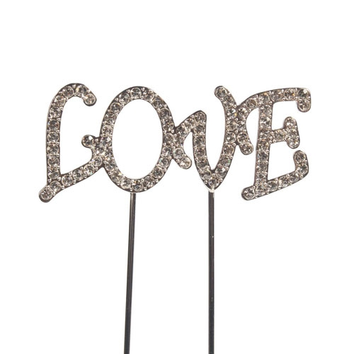 Cake Star Diamant Cake Topper - Love