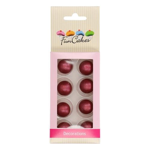 Funcakes Schokokugeln Pearl - Ruby 8 Stück